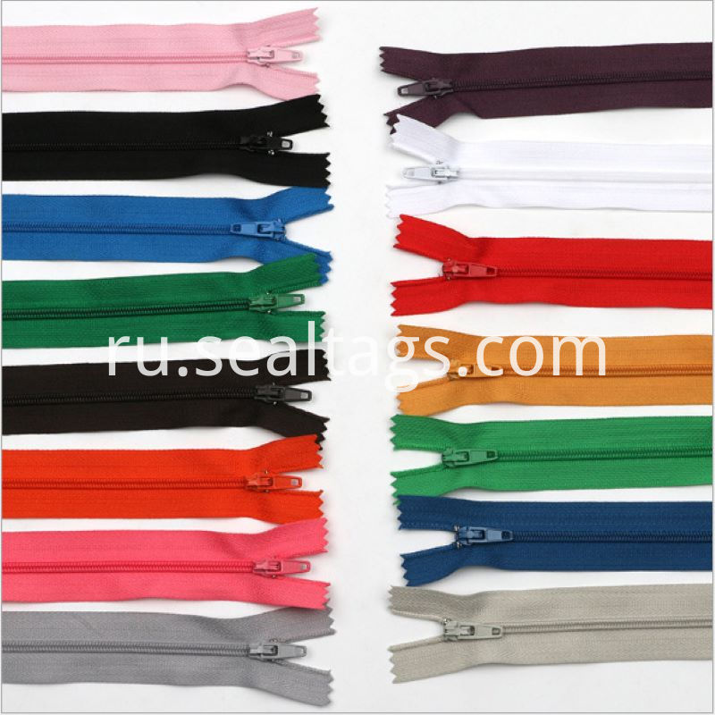 Colorful Zipper Invisible