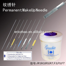 Goochie permanent makeup tattoo needle