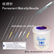 Goochie maquiagem permanente agulha tatuagem