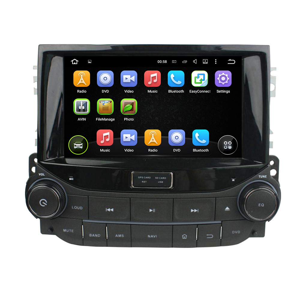 8 inch Separate car dvd player for Chevrolet Malibu 2015