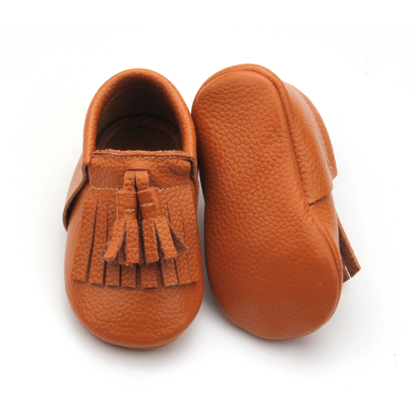 Wholesales Soft and stretchy Leather Baby Moccasins Shoes