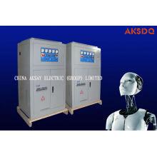 Estabilizador automático de corriente trifásica en corriente alterna