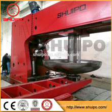 Dish end press machine pressure vessel tank head making machine
