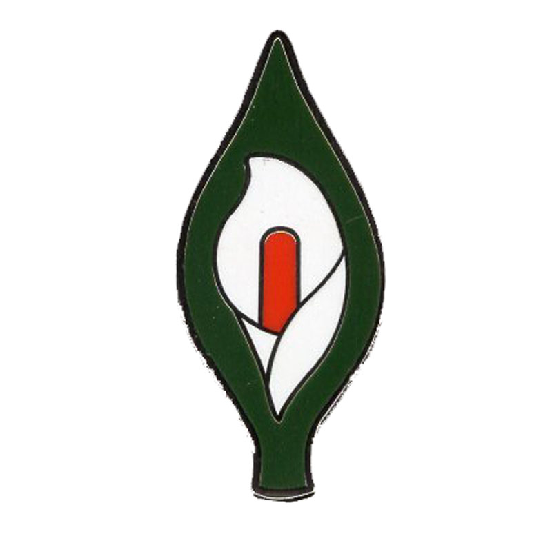 Irish Rebellion Commemorative Easter Lily Enamel Pin Badge