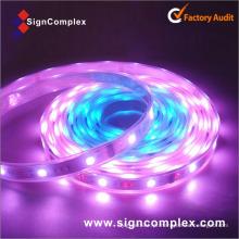 Luzes exteriores impermeáveis de nylon impermeáveis magros da corda do diodo emissor de luz IP65 da venda 50com Signcomplex com CE RoHS