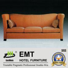 Star Hotel Klasse Sofa Bequeme Stoff Sofa Set (EMT-SF43)