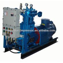 Industrieller PET, der Kolben-Verstärker-Wechselstrom-Kompressor 17CFM 4988PSI 0.49m3 344bar für Biogas durchbrennt