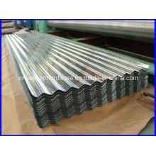 Feuille de toit métallique en acier inoxydable Sgch / SGCC / Dx51d + Z