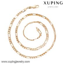 40322 conceptions chaudes de collier en or de vente dans 14 collier de bijoux de delicat d'alliage de cuivre de charcuterie simple