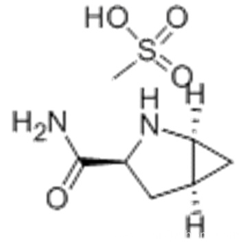 2-Azabicyclo[3.1.0]hexane-3-carboxamide,( 57187922,1S,3S,5S)-,monomethanesulfonate CAS 709031-45-8?