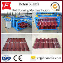 Customized for Iron Sheet Making Machine Corrugated Sheet Metal Roofing Roll Forming Machine supply to Algeria Manufacturers
