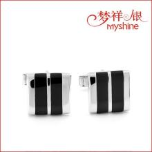 Top Taste and Fashion Sterling Silver Cuff Links