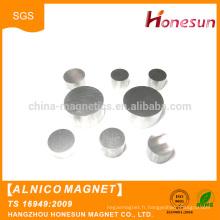 Hot vente produits frittés Alnico aimant magnétique permanent