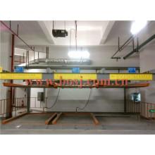 Sistema de estacionamento Placa inferior Placa de instalação de rolo de garagem Estéril Vietnman