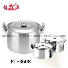 Stainless Steel Big Soup Pot (FT-3608)
