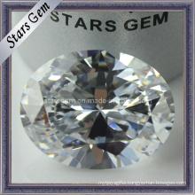 Fashion Jewelry Set Oval Cut White Cubic Zirconia (STG-36)