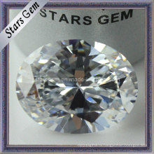 Комплект ювелирных изделий способа овальный отрезал белый кубический цирконий (STG-36)