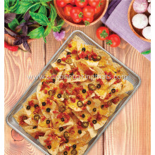 Best Price on for Cast Iron Baking Pan US Half Size Non-Stick Crisping Pan supply to Cyprus Supplier