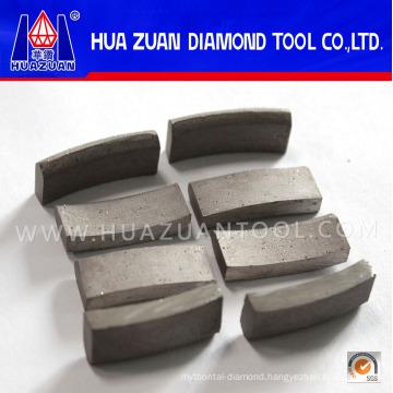 Efficiency Diamond Drill Bit Segment for Concrete Cutting