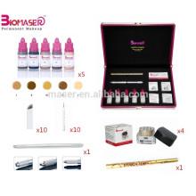 Profissional 3D Bordado Sobrancelhas Manual Maquiagem Permanente Tattoo Kits Para Microblading
