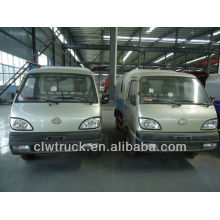 Changan 3m3 mini camión de basura Hermetic Dump para la venta