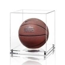 Clear Plexiglass Exhibition Display Box para basquete