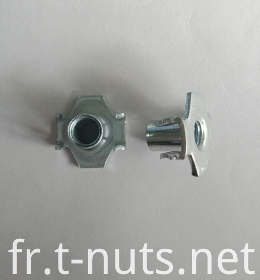 Furniture use Zinc Plating The claw Tee Nuts