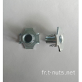 Utilisation de meubles Zinc Plating The Claw Tee Nuts