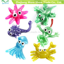 Новый Новинка ТПР животных пластичные липкие игрушки дети партия выступает