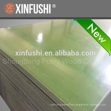 Nueva película de plástico de estilo hecho frente a la madera contrachapada hecho en China