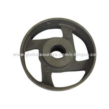 Flat Belt Pulley Wheels, Made of Cast Iron Body Material, Many Sizes AvailableNew