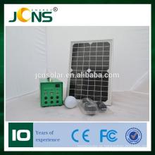 Novo sistema de iluminação solar solar LED kit de kit de projeto solar com USB