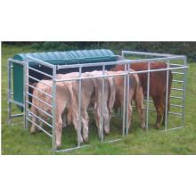 Sheet Metal Fabrication of Livestock Feeder Galvanized Portable Product