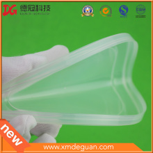 Soft Translucent Plastic PE Cap for Metal Tin