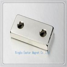 Wind-Turbine-Magnet mit 2 Löchern fixieren
