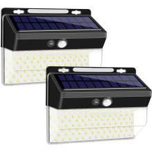 Lumière d'extérieur sans fil solaire à capteur de mouvement 206LED