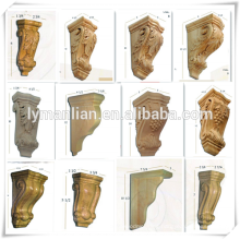 European Style Decorative Wood Corbels