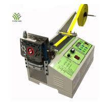 Auto Hot Knife Polyester Webbing Cutting Machine