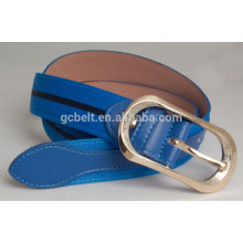 2014 New Fashion design PU belt for man and woman's dressing in 30mm width