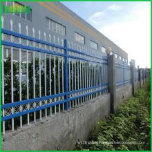 Высококачественный цинковый стальной забор для оптовых продаж