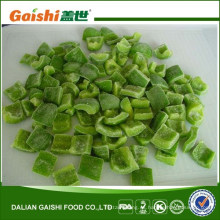IQF Frozen Green Pepper Dices
