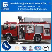 Camión de bomberos del agua de Dongfeng Duolika 4x2, camiones blandos del rescate precio del camión de la lucha contra el fuego