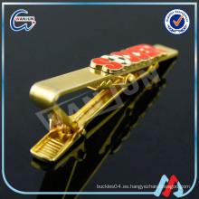 Los fabricantes de clip de encargo plateados oro