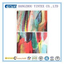 "56 ""handgemachte 100% Polyester Crepe De Chine bedruckten Stoff, 75D * 75D / 112 * 68"