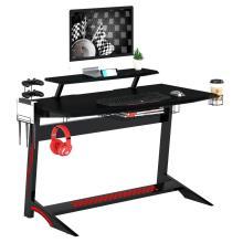 Игровой стол с крючком для наушников Компьютерный стол