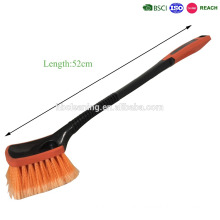 durable extended handle car brush with soft bristle new design