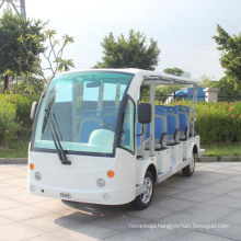 China OEM Manufacturer 14 Seater Electric Bus with Closed Door (DN-14)