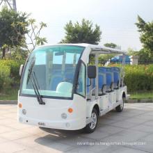 Изготовление OEM Китая Электрический автобус 14 местный с закрытой дверью (ДУ-14)