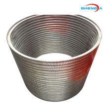 Aço inoxidável Johnson Screen Basket Strainer