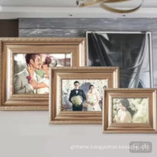 Western style  gloden color picture frame